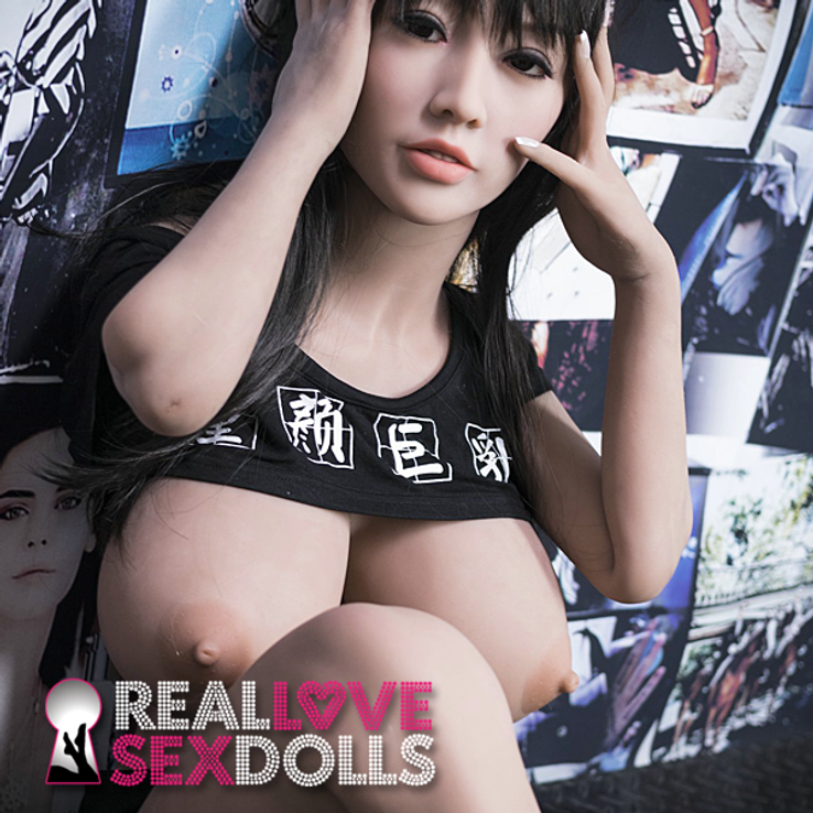 Busty chameleon sexy Asian lover life-like premium TPE sex doll 140cm N-cup Satomi