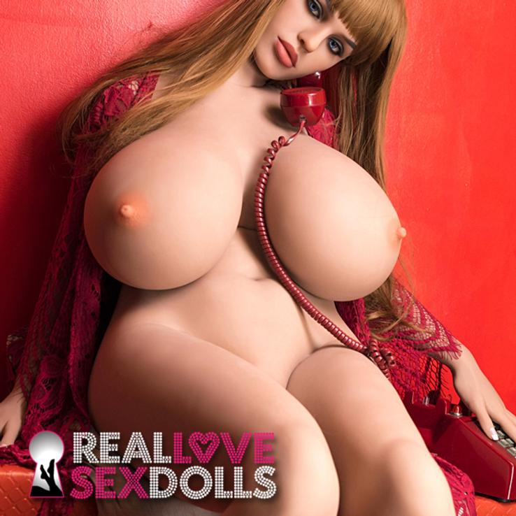 Super big and busty lover premium TPE sex doll body BBW 158cm L-cup custom