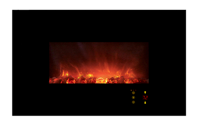 """Ambiance CLX2 Wall Mount Electric Fireplace - 45"""""""