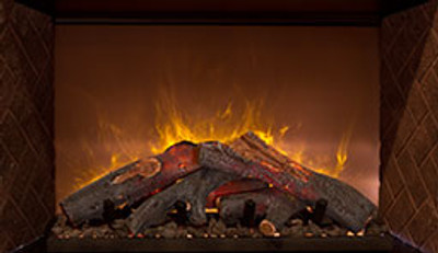 """Modern Flames Home Fire Conventional Electric Fireplace - 60"""""""
