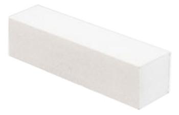 White Nail Buffer - 4 way - Grit 120