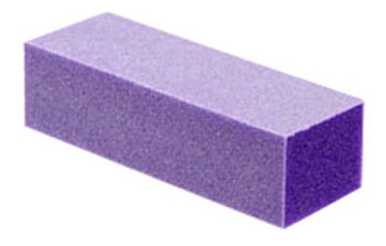 Purple Nail Buffer - 4 Way - Grit 120