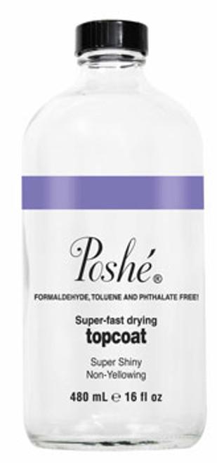 Poshe Super Fast Drying TopCoat - 16oz