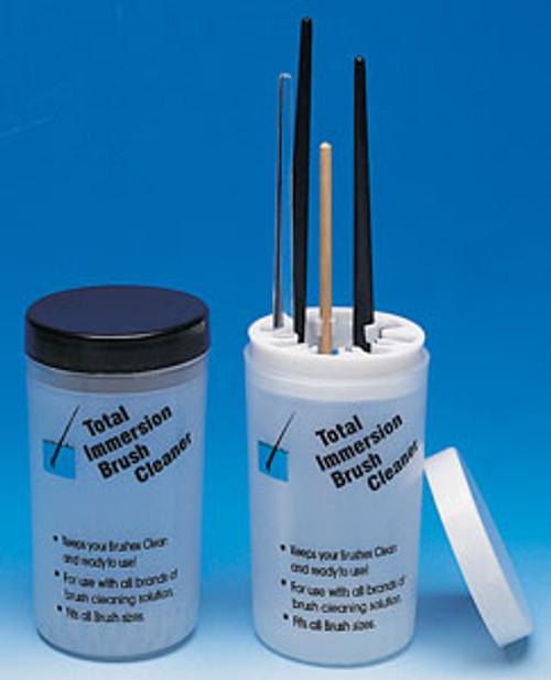Brush Holder & Cleanser Jar