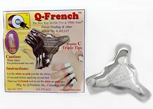 Q-French Triple Tips (Set of 3)