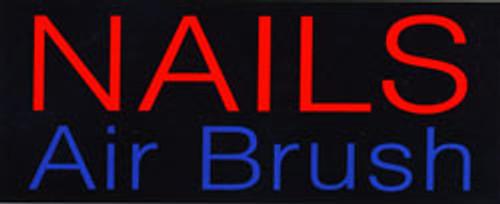 Neon Sign - Nail Airbrush
