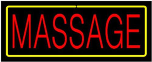 Neon Sign - Massage