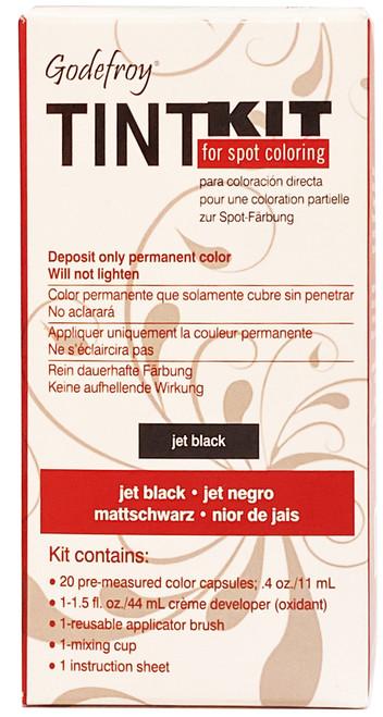 Godefroy Eyebrow Tint Kit - Jet Black