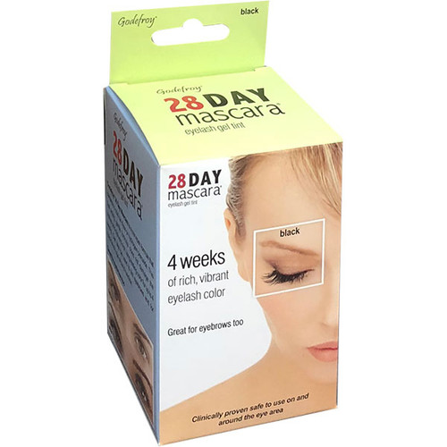 Godefroy 28 Day Mascara Permanent Eyelash Tint Kit: - Black Color