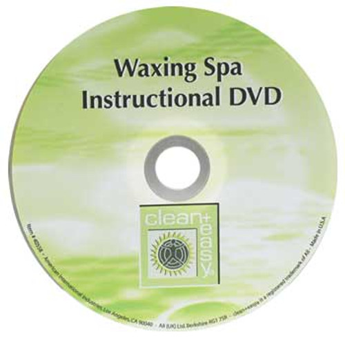 Clean + Easy Waxing Spa Educational DVD