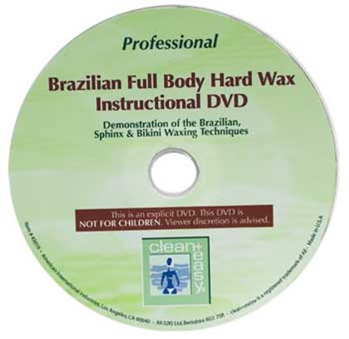 Clean + Easy Brazilian Wax DVD