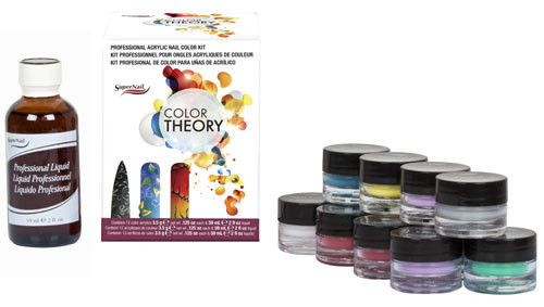 SuperNail Color Theory Professional Acrylic Nail Kit ** Non-Returnable
