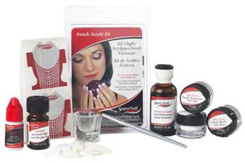 SuperNail French Acrylic Kit ** Non-Returnable