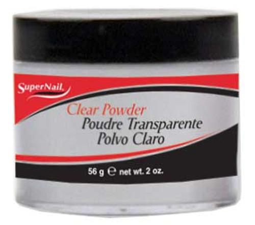 SuperNail Clear Powder - 2oz