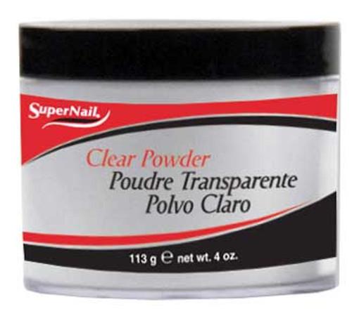SuperNail Clear Powder - 4oz