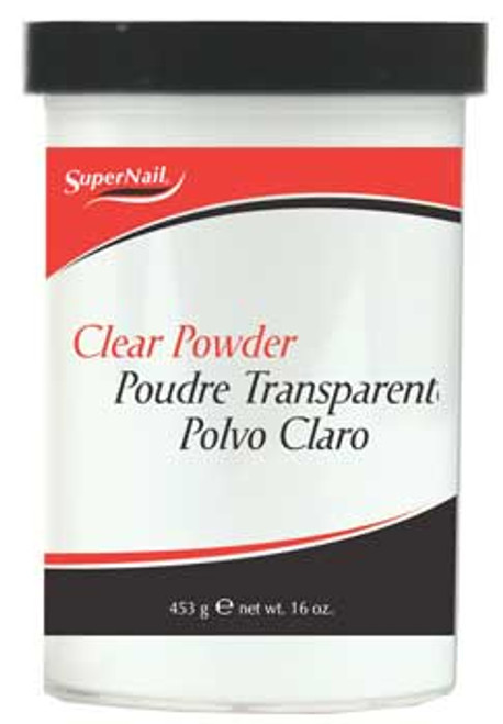 SuperNail Clear Powder - 16oz