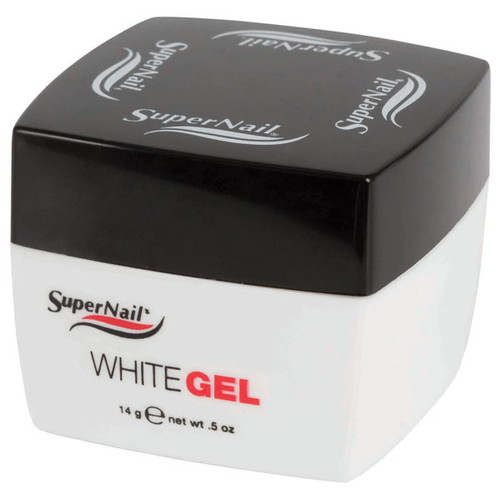 SuperNail White Gel - .5oz