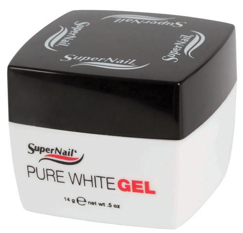 SuperNail Pure White Gel - .5oz