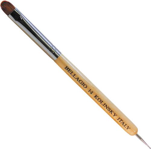 Bellagio Kolinsky French Art  Brush - Dotting Tool - Size 14