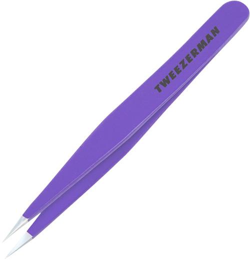 Tweezerman Point Tweezer - Purple