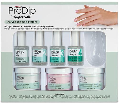 SuperNail ProDip Acrylic Dipping System Kit - 65906 ** Non-Returnable