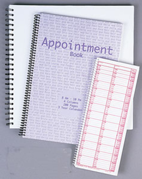 Appointment Book - 4 Col/200pg