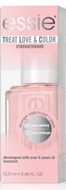 Essie Treat Love and Color Nail Strengthener - Pinked To Perfection Full Coverage Creme - 0.46oz