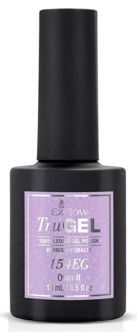 EzFlow TruGEL LED/UV Own It 154EG - 14 mL / 0.5 fl oz