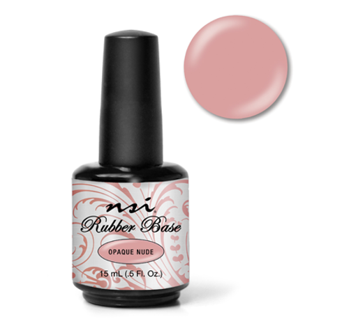 NSI Rubber Base Opaque Nude - .5 oz (15 mL)