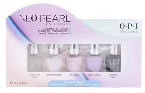 OPI Neo-Pearl Infinite Shine Collection 5 pcs Mini Pack