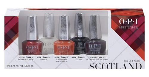 OPI Scotland Infinite Shine Collection 5pcs Mini Pack