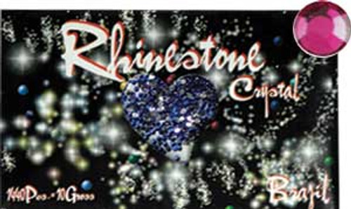 Rhinestone Crystal Color - Fuchsia - 1440ct