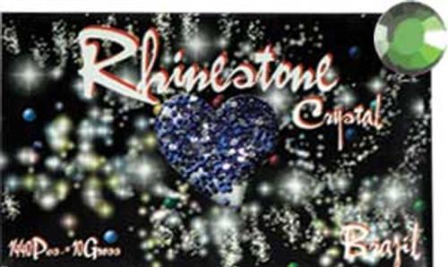 Rhinestone Crystal Color - Light Green - 1440ct