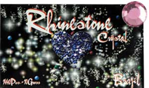 Rhinestone Crystal Color - Rose - 1440ct