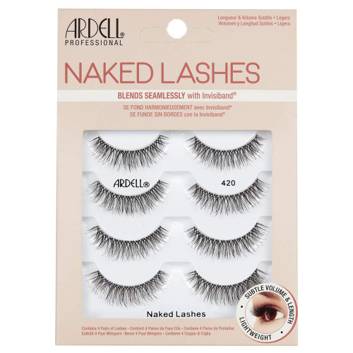 Ardell Naked Lashes 420 4 Pack
