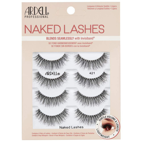 Ardell Naked Lashes 421 4 Pack
