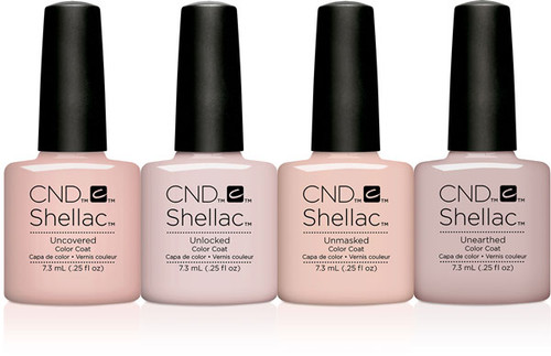 CND Shellac Gel Polish Nude The Collection