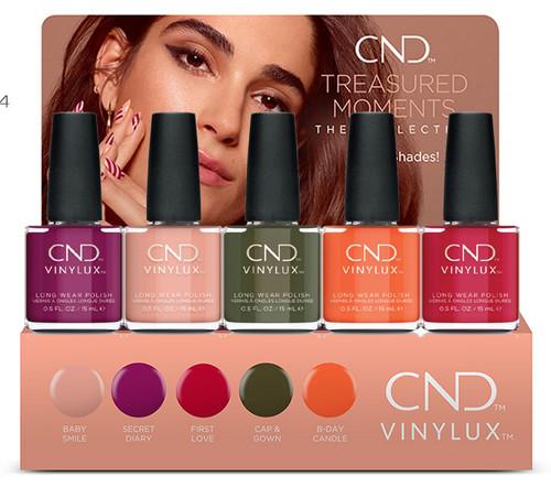 CND Vinylux Nail Polish Fall 2019 Treasured Moments collection - 5 PC
