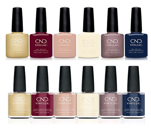 CND Shellac & Vinylux DUO Holiday 2021 Party Ready - Open Stock