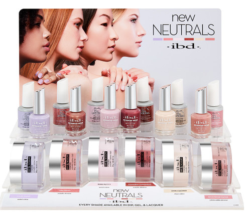 ibd New Neutrals Fall 2021 Collection Gel & Dip & Lacquer Trio Set