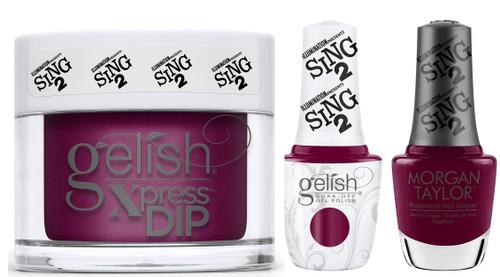 Gelish Trio Set It's Showtime! (Gel + Dip + Lacquer)