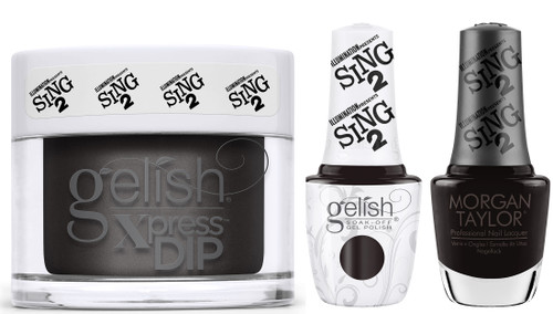 Gelish Trio Set Front Of House Glam  (Gel + Dip + Lacquer)