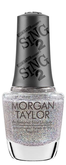 Morgan Taylor Nail Lacquer Coming Up Crystal - 0.5oz