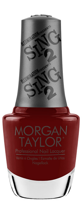 Morgan Taylor Nail Lacquer Red Shore City Rouge - 0.5oz