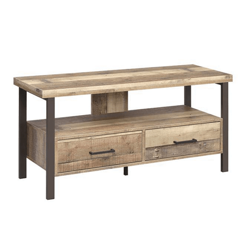 Coaster 721882 48 Inch TV Console Weathered Pine
