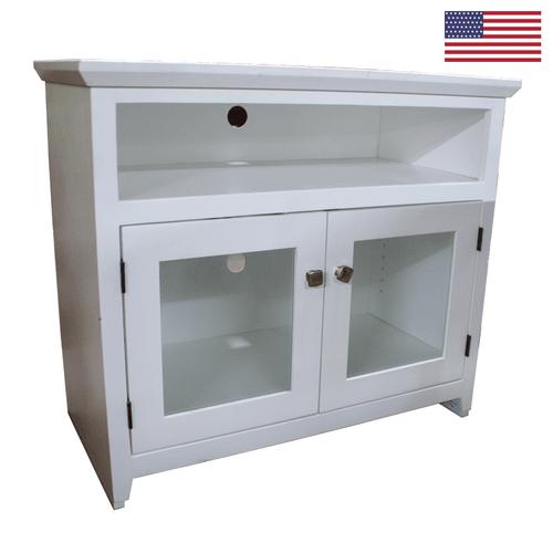Oak Design A-S236 Shaker TV Console White Painted Alder