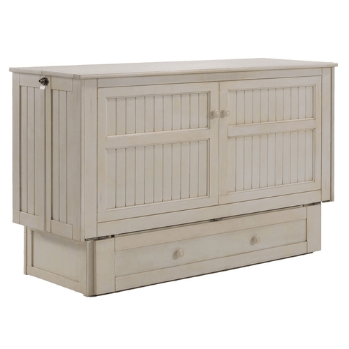 Pacific Manufacturing MUR-DSY-QEN-BC Daisy Cabinet Bed Butter Cream