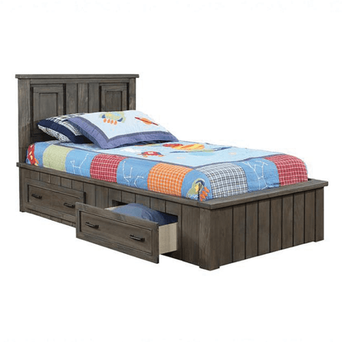 Coaster 400931T-400936T Napoleon Twin Storage Bed Gunsmoke
