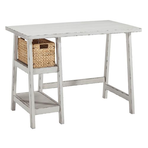 Ashley Furniture H505-510 Mirimyn Small Desk Antique White