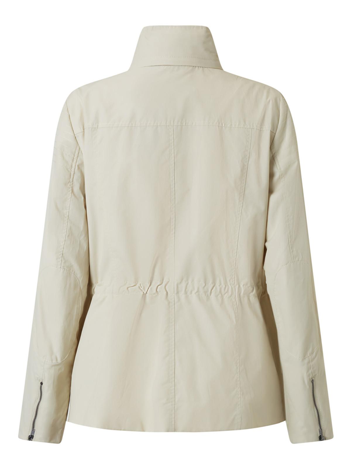 Short Jacket, Stone